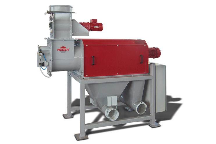 Recycling Plastic Blower : Screening system heger gmbh co kg recycling